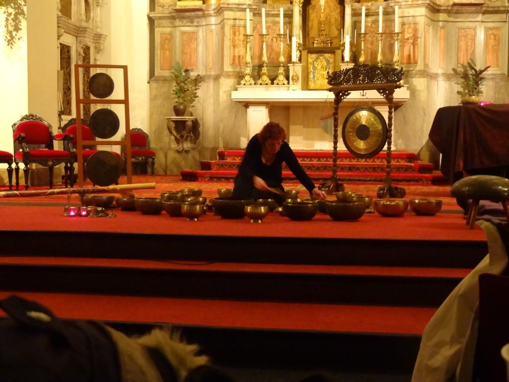 Klankschalen-concert